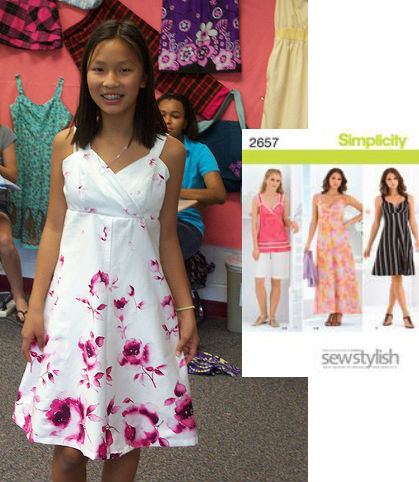 machine sewing camp, fashion camp, teach kids to sew