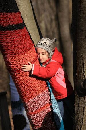 little tree hugger at Cold Comfort.