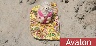 Sheepy on the Beach