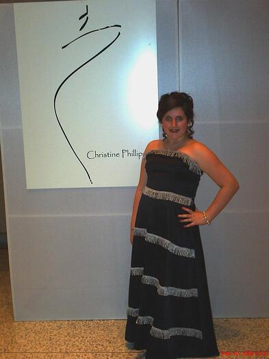 Our long time student, Lizzy at Miss Crissy's Fashion Show