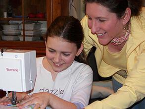 Teaching Kids to Knit