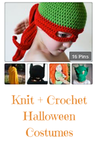 Knit + Crochet Halloween Costumea