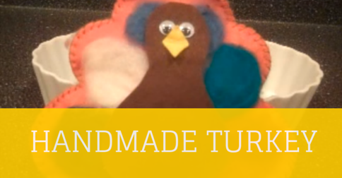Handmade Turkey Craft Project For Kids