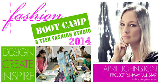 Fashion Bootcamp with April Johnston