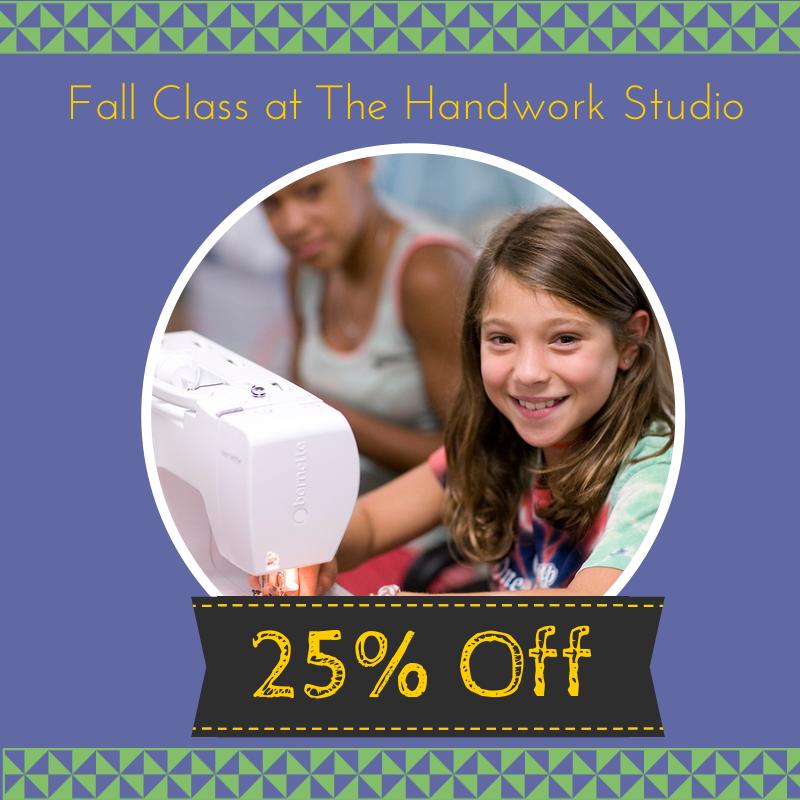 25% off Fall Class