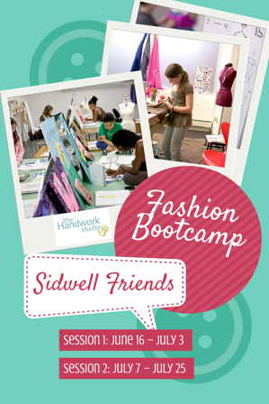 Sidwell Freinds Fashion Bootcamp