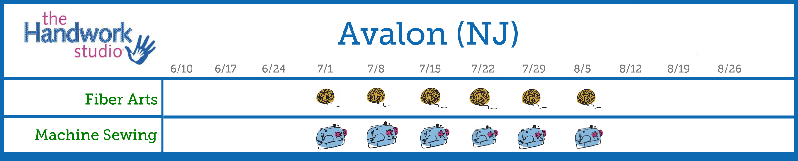Avalon Program Schedule 2.0