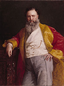 Painting of Isaac Singer, Singer Company