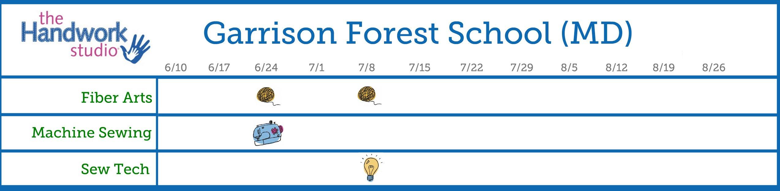 Garrison Forest School Program Schedule 2.0