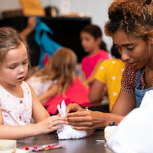 Teacher & Student crafting