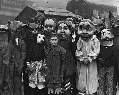 halloween costumes through the ages