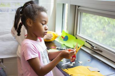 girl - fiber - arts - craft - project