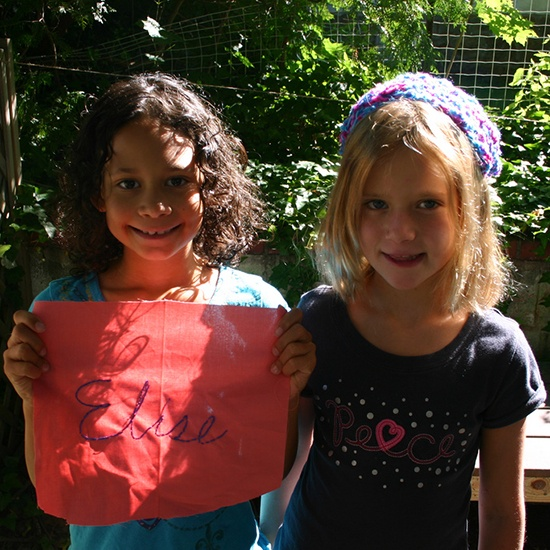 handwork kids craft summer program