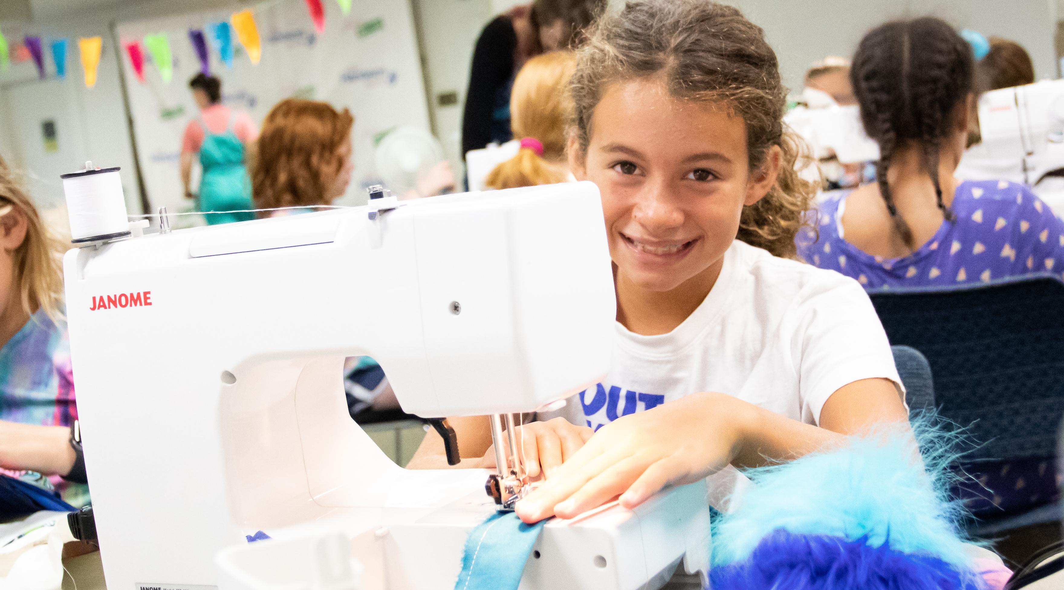 Machine Sewing - Girl - Handwork