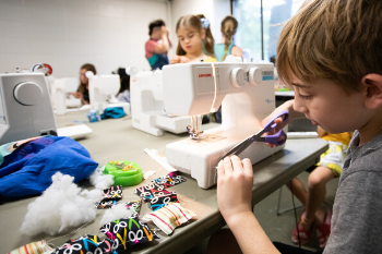 boys - machine - sewing