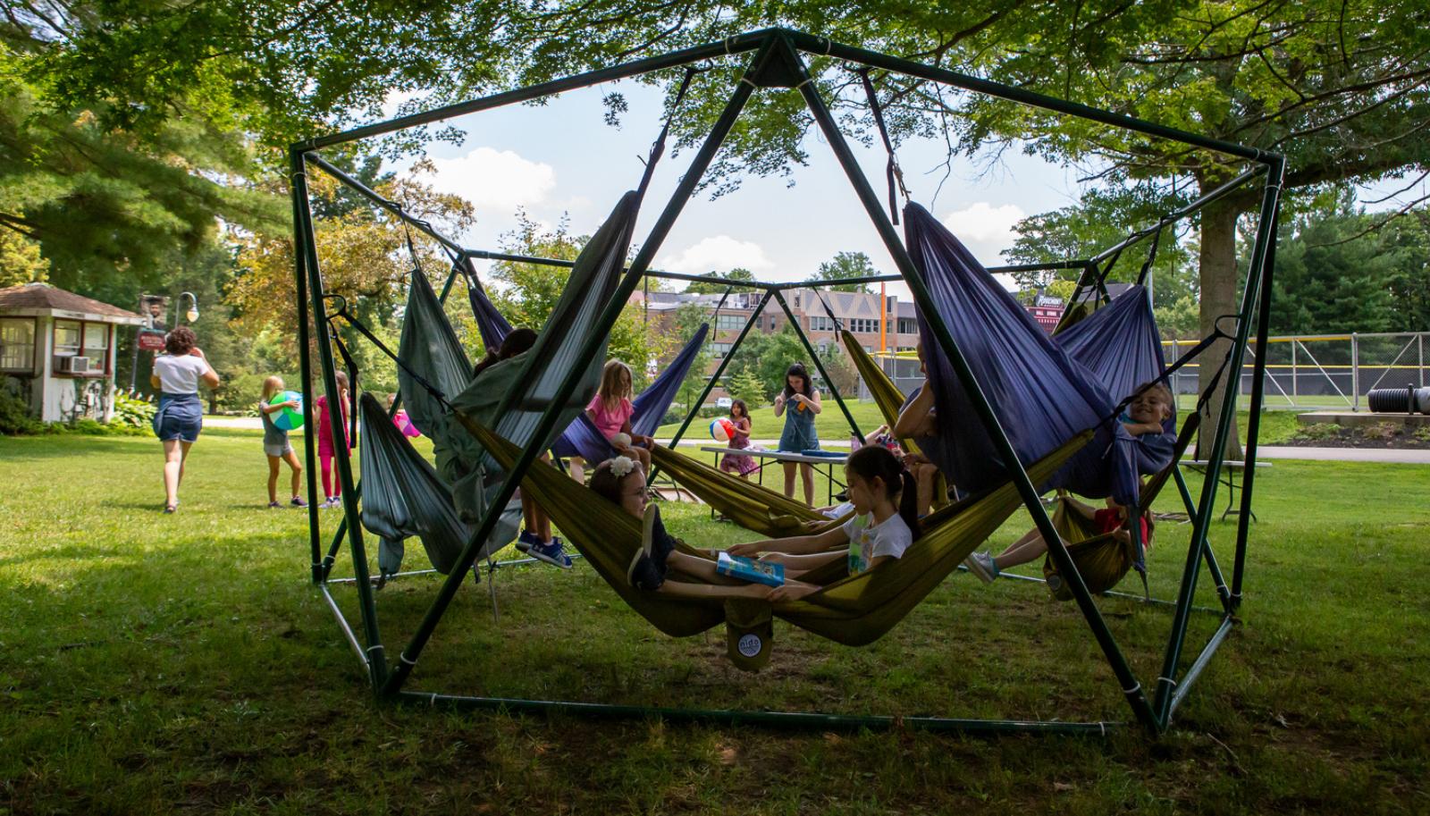 hammock - summer - camp - background